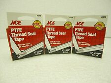 """(NEW) ACE PTFE Thread Seal Tape 45278  1/2"""" X 300"""""""