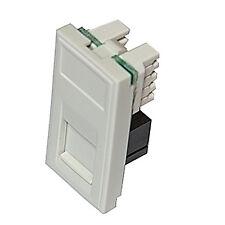 Triax Modular Faceplate RJ11 Modem Insert Module White