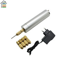 AC110-220V Mini Electric Aluminum Motor Hand Drill PCB Drilling Model Hobby Tool