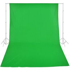 10ft x 20ft Chromakey Green Screen Muslin Backdrop Photo Photography Background