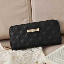 2015 KARDASHIAN KOLLECTION CLASSY FASHION WOMEN PURSE - WALLET BLACK