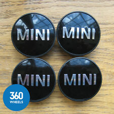 4 x NEW GENUINE ORIGINAL MINI ALLOY WHEEL CENTRE CAPS HUB BADGES 36131171069