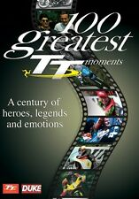 Isle of Man TT - 100 Greatest TT Moments (New DVD) Duke Jefferies Dunlop Hislop
