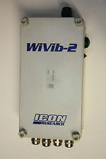 Icon Research WiVib-2 Wireless Vibration Data Acquisition Unit