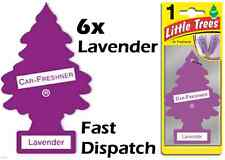 "MAGIC TREE ""LITTLE TREE"" LAVENDER FRAGRANCE CAR AIR FRESHENERS PACK OF 6"