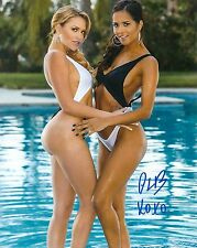 Abby Lee Brazil Adult Film Star Signed Photo #87 Brazzers,Penthouse, Evil Angel