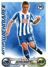 17 Artur Wichniarek - Hertha BSC Berlin - TOPPS Match Attax 2009/2010