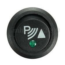 PARKING SENSOR SWITCH 12V 20A P ILLUMINATED ROCKER SWITCH ROUND  FRONT, REAR