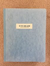 Boeing 747-400 Aircraft Operating Manual - Northwest Airlines 1988