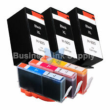 6 PACK 920XL New GENERIC Ink for HP Officejet 7000 series (E809) 7500 (E910)