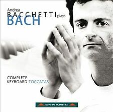 Bach: The Toccatas (Andrea Bacchetti Plays Bach), New Music