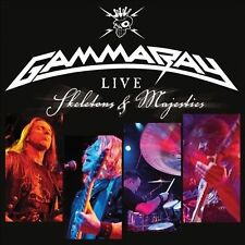 Skeletons & Majesties: Live by Gamma Ray (CD, Dec-2012, 2 Discs, Ear Music)
