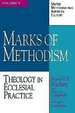 Marks of Methodism: Theology in Ecclesial Practice (United Methodism and Americ