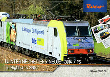FLEISCHMANN H0 & N – ROCO H0 WINTER NEUHEITEN / NEWS 2014/15 + Highlights 2014!!