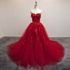 2014 New Red Wedding Dresses Bridal Gown Quinceanera Pageant Formal Prom dresses