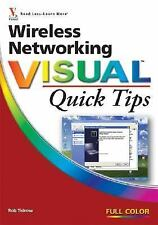 Wireless Networking Visual Quick Tips Tidrow, Rob Paperback