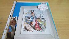 Gráfico de punto De Cruz Gráfico de Peter Rabbit Beatrix Potter robar cebollas Gráfico