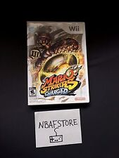 Mario Strikers Charged Soccer - Nintendo Wii and Wii U Game COMPLETE