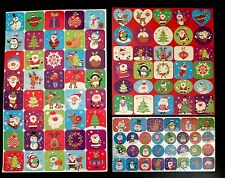 Christmas Stickers 100 Christmas Stickers Arts & Crafts Teacher Classroom Award