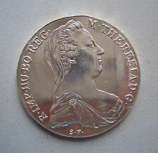 Austria, Trade Coinage, Maria Theresa Silver Thaler, Dated 1780, Uncirculated