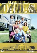 DALLAS - DIE ZWEITE STAFFEL  - EPISODEN 5-8 / DVD - TOP-ZUSTAND