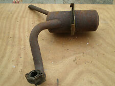 VESPA APE MP 400 500 COMMERCIAL MARMITTA MUFFLER SILENCER POT ANNI 70