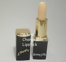 L'Paige Lipstick White Changes to Shades of Rose Pink Longlasting Moisturizing