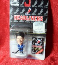 1996 CORINTHIAN HEADLINERS Mario Lemieux NHL HEADLINERS FIGURE Penguins Blue