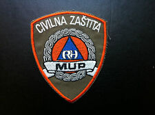 MUP- RH - CIVIL PROTECTION PATCH - CROATIA POLICE MINISTRY OF INTERNAL AFFAIRS !
