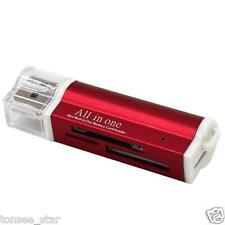 USB2.0 Multi Adapter Card Reader For Micro SD SDHC TF M2 MMC MS PRO DUO All in 1