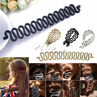 UK New French Hair Braiding Tool Roller Hook Magic Hair Twist Styling Bun Maker