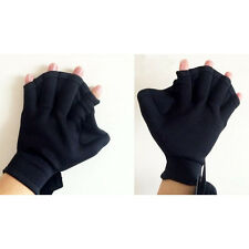 Surfing Webbed Gloves Surf Fast Paddle Hand Training Paddle Diving Swiming AU