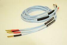 SUPRA CLASSIC cavi di altoparlanti 2.5t | 4 Metri Stereo Coppia | si adatta Cyrus | ARCAM