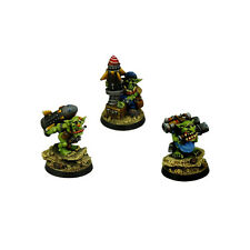 Ork War2 Orc Goblin Ammo Dealers Assistants Kromlech Resin KRM068