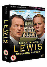 LEWIS COMPLETE SERIES 1 - 4 DVD BOX SET ITV Season 1 2 3 4 UK LAWRENCE FOX