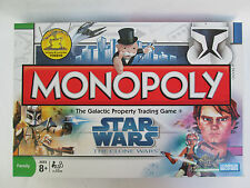 Star Wars Clone Wars Monopoly 2008 - Complete - Excellent Used Condition!
