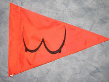 Custom TRIANGLE BOOBS Flag for Safety ATV UTV JEEP dirtbike Dune Whip Pole