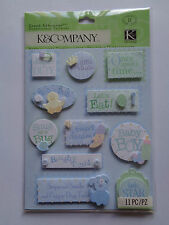 K & CO SWEET PEA LITTLE PRINCE GRAND ADHESIONS STICKERS BNIP