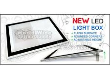 "NEW ULTRA THIN LED Tattoo Tracing Light Box A4 (8.75"" x 12.25"") 1/4"" Inch Thick"