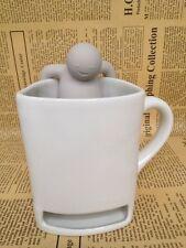 Mr.Tea Infuser / Mr.Tea Mister Tea Strainers Mug Steeper Silicone Strainer