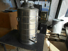 MILITARY SURPLUS SUPER CHEF 10 GALLON GAL COFFEE NO MILK COOLER STAINLESS ARMY
