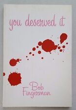 You Deserved It by Bob Fingerman TPB Softcover Dark Horse Comics