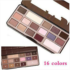 Spot Faced Chocolate Bar Sweet Color Eyeshadow Makeup Chocolate Heart