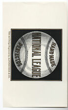 1900 Cigar Label for Hand Made National League Perfectos with Baseball