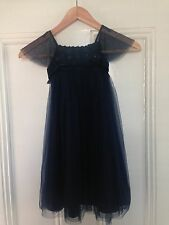 Monsoon Dress - Blue Flower Girl, Party, Special occasion Size 3-4 years