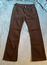 LEVIS 557 Ladies Bootcut Jeans Size: W 27 L 28 VERY GOOD Condition