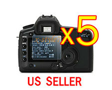 5x Clear LCD Screen Protector Guard Cover Film For Canon EOS 40D 50D 5D 5D II