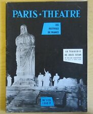 Paris Théâtre n° 112 La tragédie de Jules César de William Shakespeare