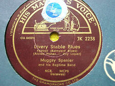 78 rpm-MUGGSY SPANIER- Livery stable blues - HMV JK 2238