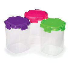 Sistema Knick Knack Extra Small Storage Containers Box Pk of 3 Food Kitchen Home